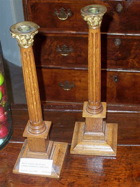 candlestick ls for sale english columnar candlesticks for sale antiques com