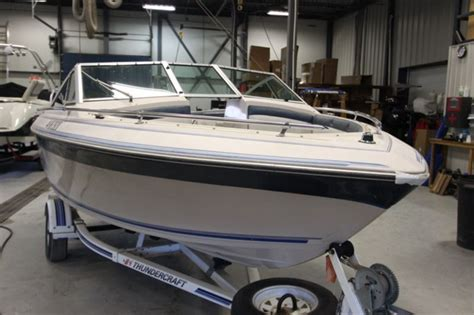 Thunder Craft Boats For Sale by Thunder Craft Boats 17 1988 Used Boat For Sale In Rivi 232 Re