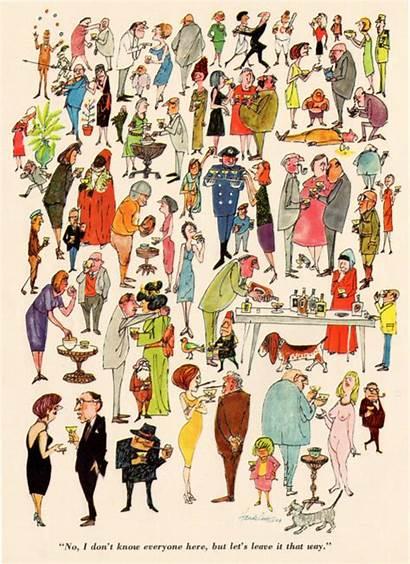 Cavalier Magazine Cartoon 1964 Illustration Cartoons June