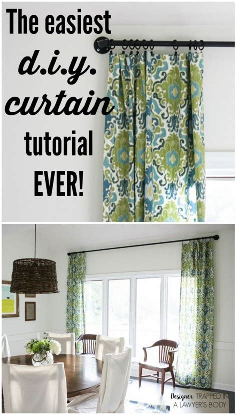 Drapes Made Easy - 25 best ideas about make curtains on sewing