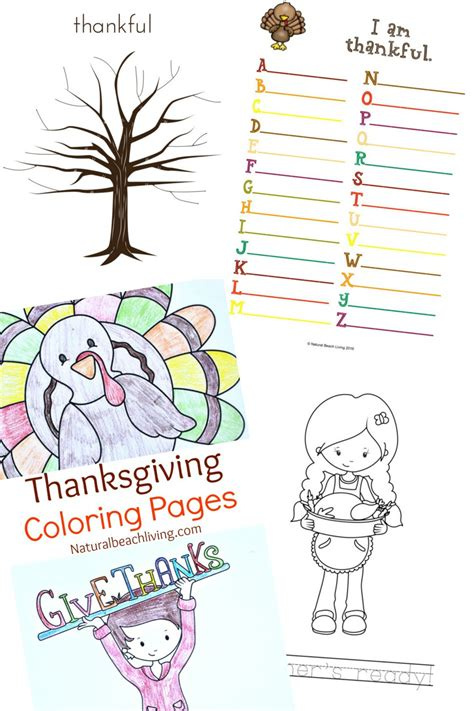 thanksgiving printable 5 filled thankful thanksgiving printables for living