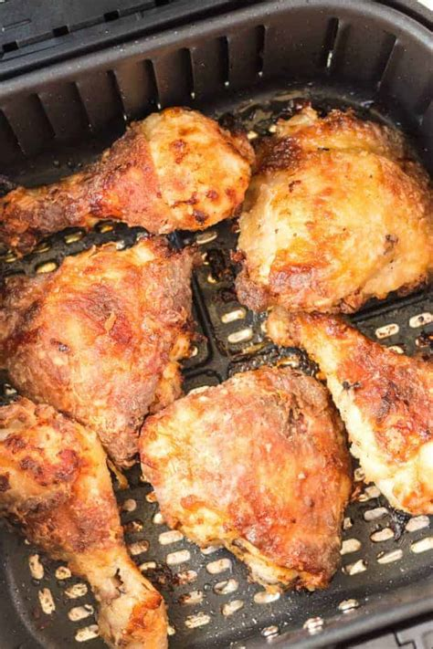 fryer chicken air fried crispy princesspinkygirl healthy recipe recipes basket fry frying easy princess legs crunchy
