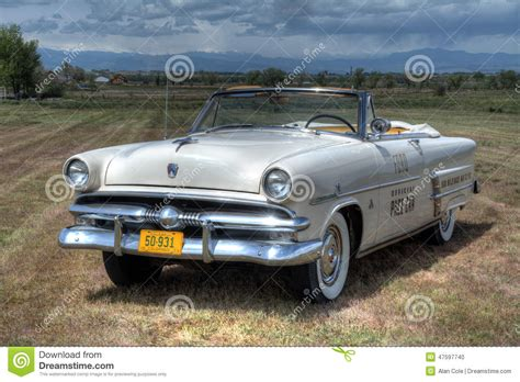 1953 Ford Sunliner Convertible Pace Car Editorial Image
