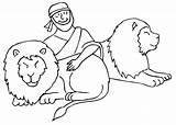 Daniel Den Coloring Lion Lions Pages 2008 Bible Comments Prophet Biblekids Eu January Coloringhome sketch template