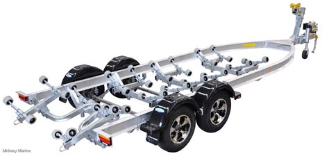 Aluminum Boat Trailer Wheels For Sale by Dunbier Aluminum Roller Series Boat Trailer For Sale