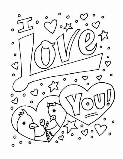 Coloring Sheets Pages Drawings Drawing Valentine Monster