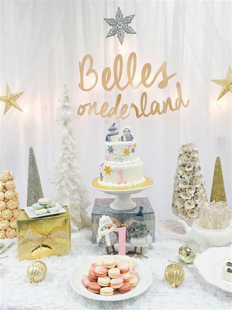 winter wonderland birthday party ideas pretty  party