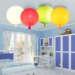 Blickdichte Vorhänge Kinderzimmer : deckenleuchte modern ballon design 1 flammig im kinderzimmer ~ Frokenaadalensverden.com Haus und Dekorationen