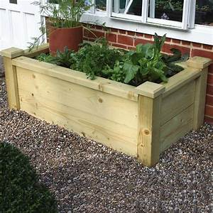 Rectangle, Wooden, Planters