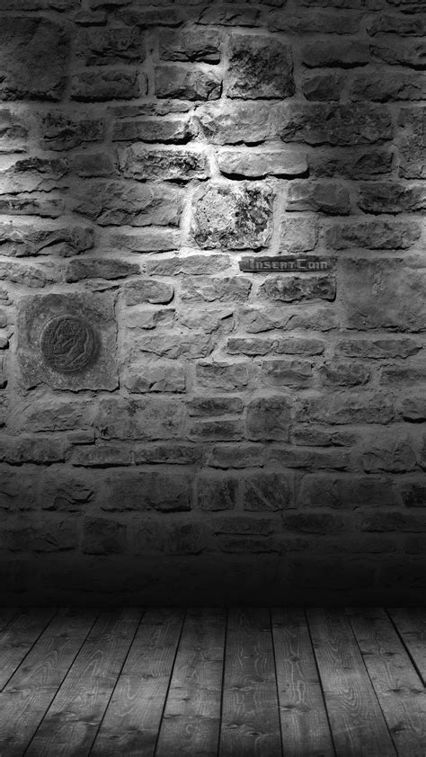 grey brick wall htc insert coin android wallpaper