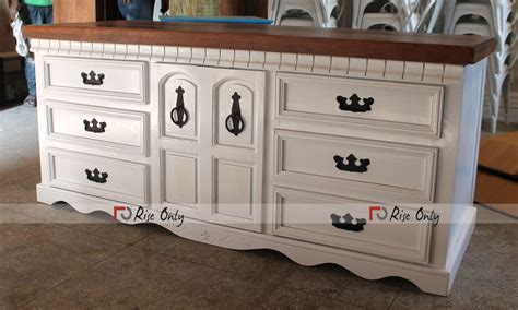 fully foldable white washed wooden reception counter