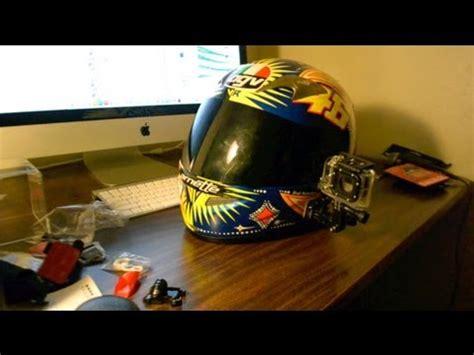gopro hero black edition motorcycle helmet mount youtube