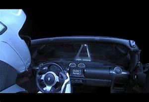 Voiture Tesla Dans L Espace : la tesla roadster est arriv e dans l espace moniteur automobile ~ Medecine-chirurgie-esthetiques.com Avis de Voitures