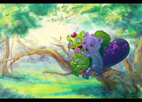 Nutty And Toothy By Xin-tetsu On Deviantart