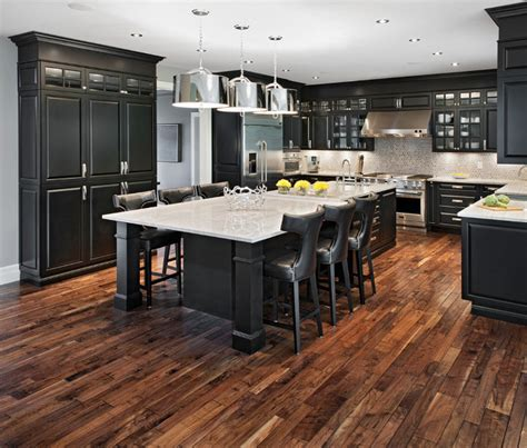 pictures of wood floors in kitchens acacia hardwood flooring an excellent choice home 9137
