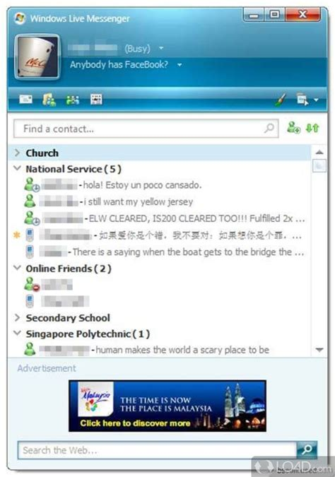 windows live messenger 8