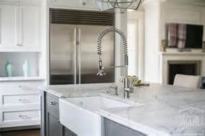 top pull kitchen faucets charcoal grey island with farmhouse sink and pull out