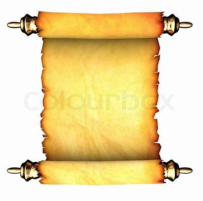 Scroll Ancient Paper Background Clip 3d Blank
