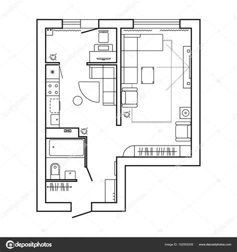 Grundriss Kuche by Oben Grundriss K 252 Che Architektur Plan Mit M 246 Beln Haus