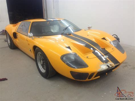car for sale ford gt40 replica gtd chassis unfinished project kit car
