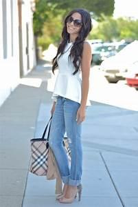 How to Wear Heels with Jeans | WardrobeLooks.com