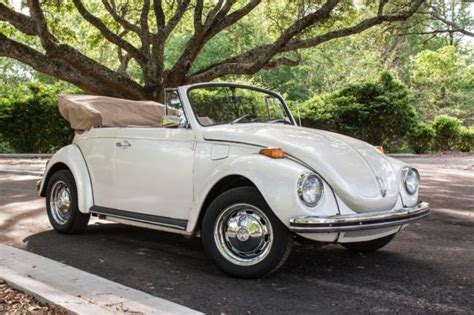 New & used volkswagen convertibles for sale. Volkswagen Beetle - Classic Convertible 1971 White For ...