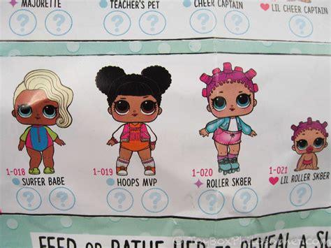 Lil Outrageous Littles (l.o.l.) Dolls