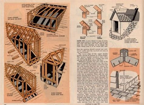 roof dormer plans details    build frame roof dormers plans attics dormers roof