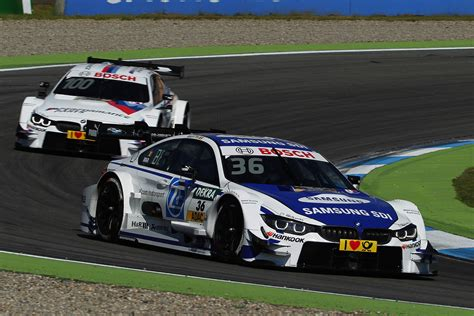 Three Bmw M4 Dtms In The Points At 2016 Dtm Debut