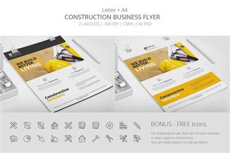 Construction Business Flyer | Flyer template, Business ...