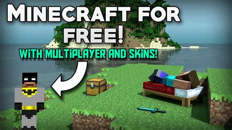 How To Get Minecraft For Free With Multiplayer And Skins