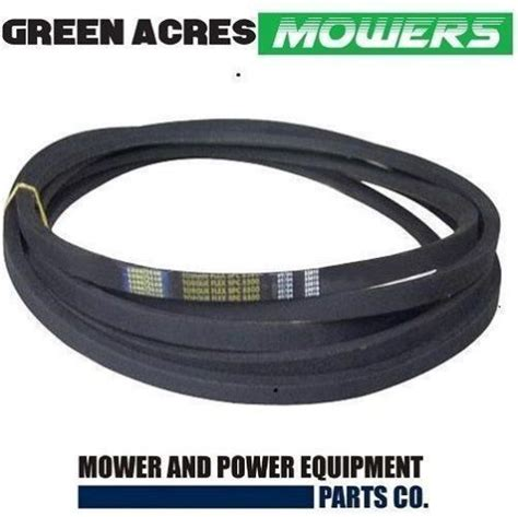 deck belt fits selected  cut husqvarna  turn mowers