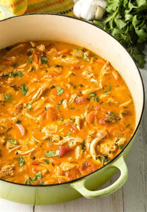 The Best Chicken Tortilla Soup Recipe - A Spicy ...