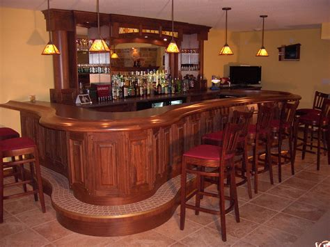 Bars For Home by Milwaukee Woodwork Custom Home Bars