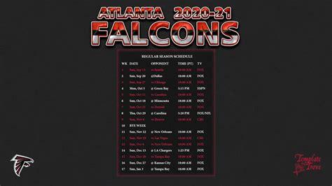 atlanta falcons wallpaper schedule