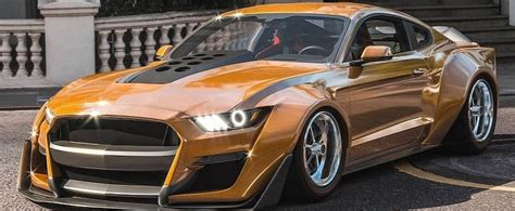 """So, you keep dreaming of the future. 2020 Ford Mustang Shelby GT500 """"Anaconda"""" Is a Widebody ..."""