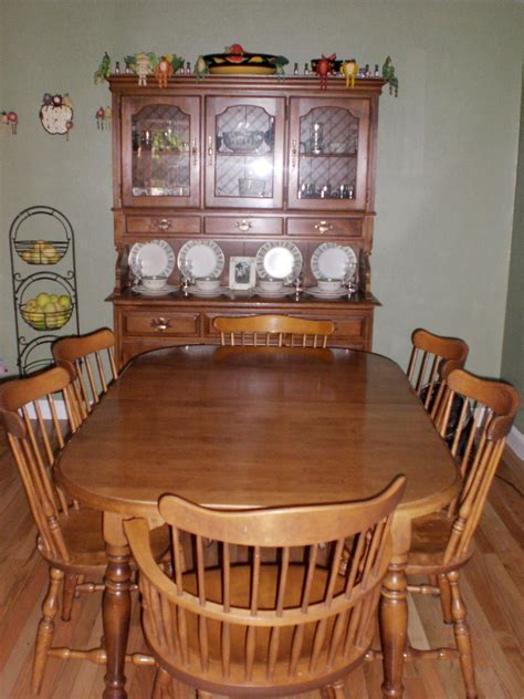 Ethan Allen Dining Room Set by Ethan Allen Dining Set Collectors Weekly