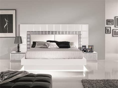 dormitorio mod natassia lacado en blanco  pan de plata