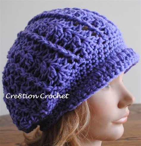 free crochet hat patterns newsboy slouch crochet hat