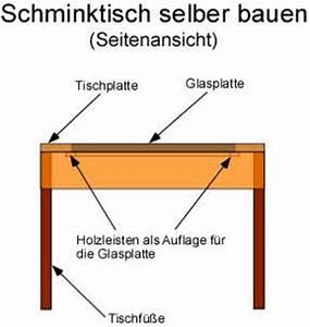 Schminktisch Selber Bauen : anleitung schminktisch selber bauen ~ Watch28wear.com Haus und Dekorationen