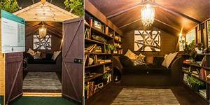 Cosy, And, Luxurious, Reading, Snug, By, Dappled, Interiors, Wins, The, Grand, Shed, Project