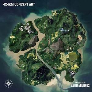 PUBG Interactive Map Jungle