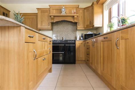 shaker oak kitchen cabinets kitchens newry solid oak shaker kitchen 5166