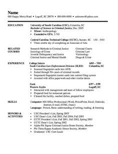 Resume examples see perfect resume samples that get jobs. Criminologist resume sample January 2021