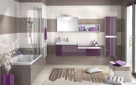 salle de bain design 2014 salle de bain violette et taupe photo 3 20 une salle de bain revitalisante 224 d 233 couvrir