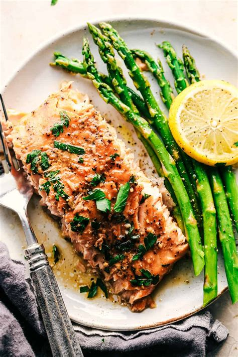 garlic brown sugar glazed salmon   salmon
