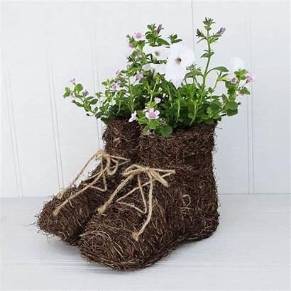 Garden Planters Pots Boots Planter Walking Flowers