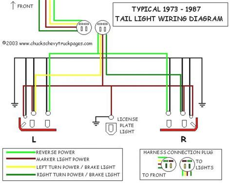 97 tahoe brake light wiring diagram