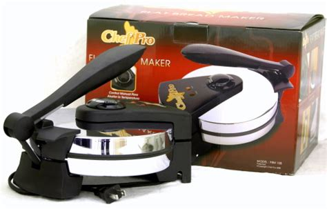 chef pro tortilla maker roti maker flat bread maker volts