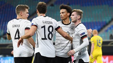 Timo Werner brace helps Germany go top, Spain held in UEFA ...
